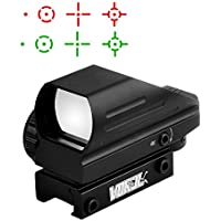 Gohiking Vokul Tactical Multi Optical Coated Holographic Red and Green Dot Sight Tactical