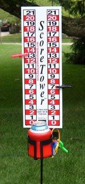 ScoreTower-Scoreboard-Drinkholder-for-Bocce-Ball