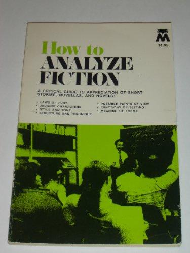 How to Analyze Fiction PDF