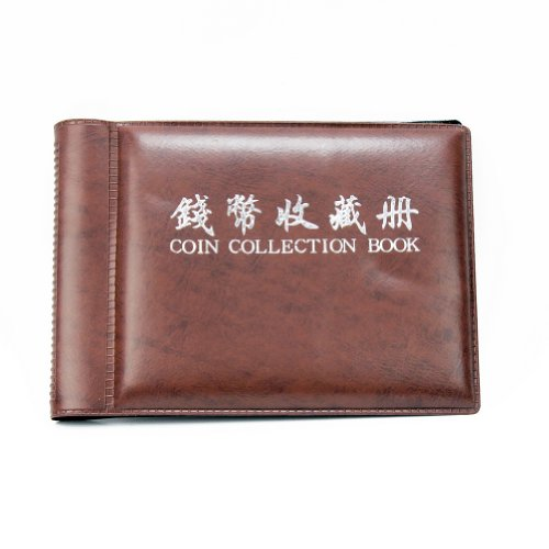60 Pockets 10 Pages Money Penny Coin Holderss Collection Storage Album Book New