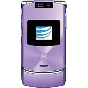 motorola razr v3xx purple no contract at t cell phone cell phones accessories. Black Bedroom Furniture Sets. Home Design Ideas