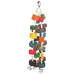 A and E Cage Co. Circles and Squares Bird Toy