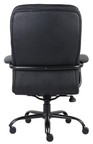 heavy duty office chair boss b991cp heavy duty double plush chair 350pound