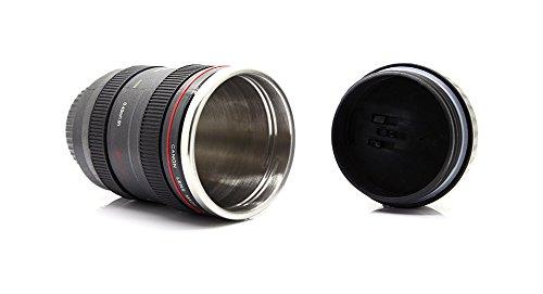 Unique Simulation Dummy Zoom Lens Thermos Mug Cup-Canon 24-105Mm Lens, 401-500Ml - (Premium Quality)