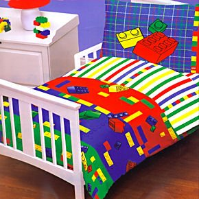 Amazon.com : Legos Kids-Bed In A Bag-Toddler/Crib Bedding