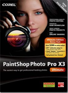 Corel Paintshop Photo Pro X3 Ultimate Edition
