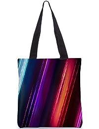 Snoogg Abolish Pattern Design Digitally Printed Utility Tote Bag Handbag Made Of Poly Canvas