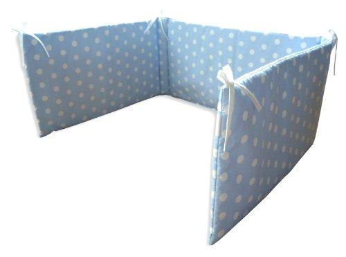 Ideenreich, Paracolpi da Culla, Multicolore (Blau-Weiß)