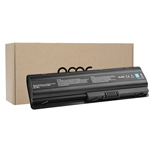 OMCreate Replacement for HP MU06 Notebook Battery 593553-001 G62 G32 G42 G42T G56 G72 G4 G6 G6T G7; Compaq Presaio CQ32 CQ42 CQ43 CQ430 CQ56 CQ62 CQ72 Series ; HP Envy 17; HP Pavilion DM4 DV3-4000 DV5-2000 DV6-3000 DV6-6000 DV7-4000 DV7-6000 Series, also fits P/N MU09 593554-001 - 12 Months Warranty [Li-ion 6-Cell] (Hp Mu06 Battery compare prices)