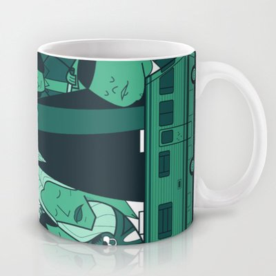 Society6 - Breaking Bad (Green Version) Coffee Mug By Ale Giorgini