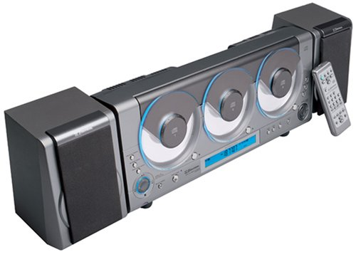 Emerson 3 Disc Cd Player Car Audio Systems