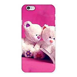 Twin Teddy Multicolor Back Case Cover for iPhone 6 6S