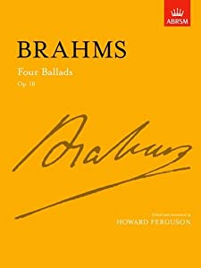 Four Ballads Op 10 Signature Series Abrsm from OUP Oxford