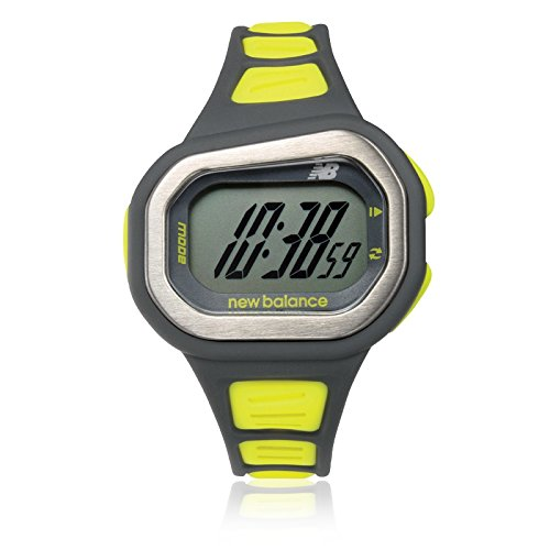 new balance STYLE 500 Men's Running Watch (Gray × lime) ST-500-003