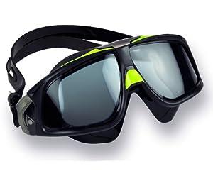 Aqua Sphere Seal 2.0 Goggles, Black Green - Tinted Lens