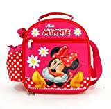 Lunch Bag - Minnie Mouse - Flowers Tote Bag Case