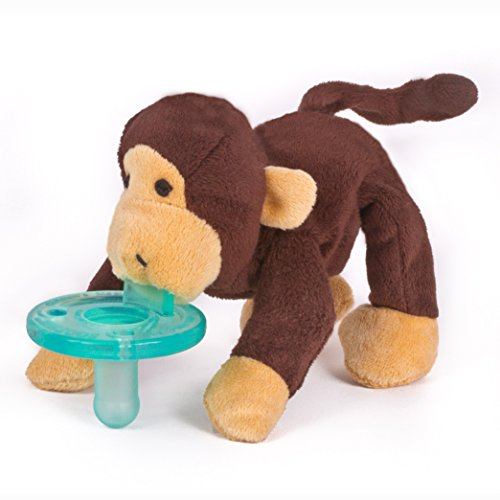WubbaNub-Brown-Monkey-Pacifier