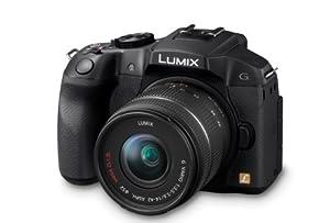 Panasonic DMC-G6KEB-K Digital Compact System Digital Camera with Interchangeable Lens - Black (16MP, 14-42mm Lens) 3 inch LCD