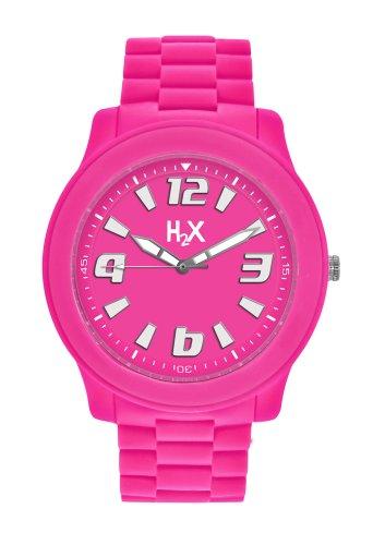 HAUREX ITALY SF381XF1 - Reloj (Pulsera, Unisex, Metal, Acero, 4 cm, 1,3 cm)