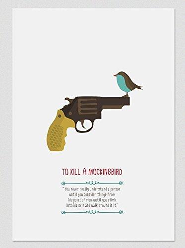 il-buio-oltre-la-siepe-to-kill-a-mockingbird-stampe-a4