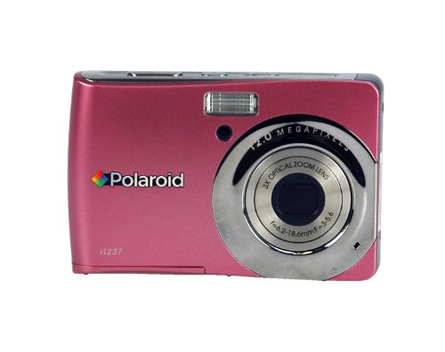 Polaroid CIA-1237PC 12 MP Digital Camera with 3x Optical Zoom, Pink