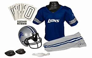 Detroit Lions Football Deluxe Uniform Set - Size Small by Unknown
