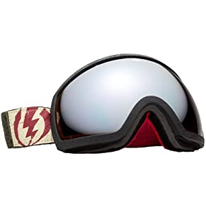 Electric EG2 Adult R.I.D.S. Spherical Snow Snowmobile Goggles Eyewear - Iikka Backstrom/Bronze/Silver Chrome / One Size Fits All