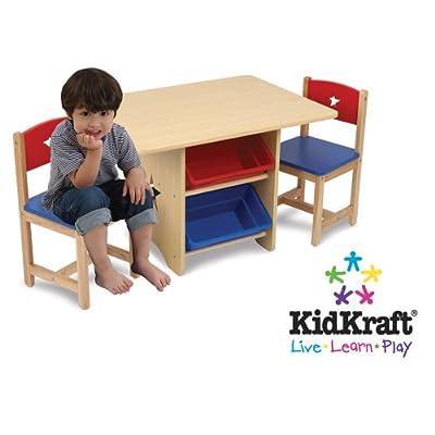 Kidkraft Star Table & 2 Chair Set 26912 Furniture (Multi-colour)