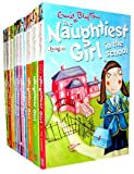 Enid Blyton The Naughtiest Girl 10 Books Collection Set Pack (Series 1-10) (Naughtiest Girl Collection) (Naughtiest Girl in the School, Naughtiest Girl Again, Is a Monitor, Here's the Naughtiest Girl, Keeps a Secret, Helps a Friend, Saves the Day, Well Do