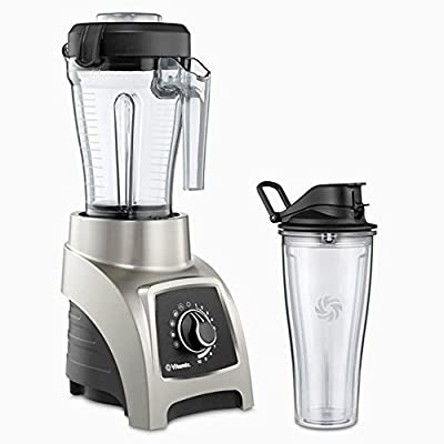 Vita-Mix S-Series High Performance Personal Blender S55 Brushed Stainless Finish