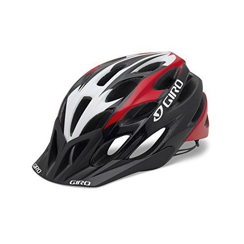 Giro, Casco da ciclismo Phase, Rosso (Red/Black), 55-59 cm