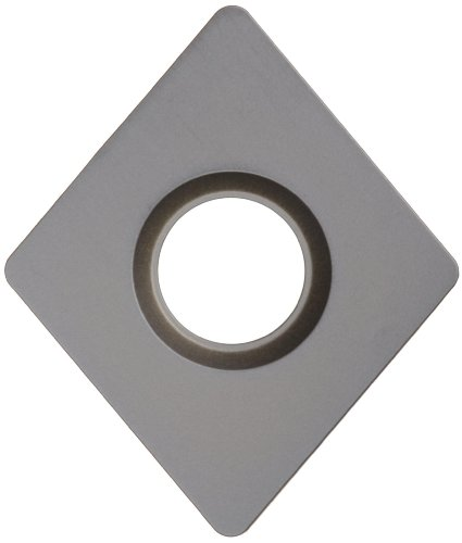 Sandvik Coromant T-Max P Carbide Turning Insert, CNMA, 80 Degree Diamond, KR Chipbreaker, GC3215 Grade, Multi-Layer Coating, CNMA 434-KR, 1/2