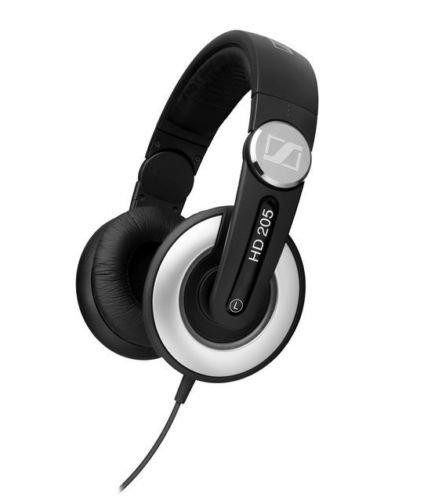Sennheiser Hd 205-Ii Professional Grade Studio Monitor Dj Headphones (Hd205-Ii)