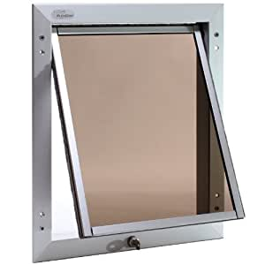 Plexidor Performance Pet Doors Top Swing Dog Door Large
