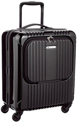 [ワールドトラベラー] World Traveler ディラトンポケットⅡ スーツケース 44cm・33リットル・2.7kg・四輪・ポケット付 05809 01 (ブラック)