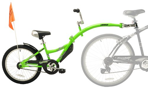 WeeRide Co-Pilot Bike Trailer, Green