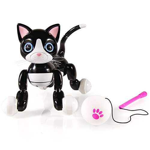 Zoomer Kitty Robotick cat - robots de entretenimiento (Polímero de litio, USB, Closed box)