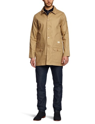 Weekend Offender Uruguay Men's Coat Stone Medium