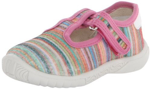 Naturino 7477 Usa Mary Jane (Infant/Toddler/Little Kid),Pink/Multi,20 Eu (4-4.5 M Us Toddler) front-694820
