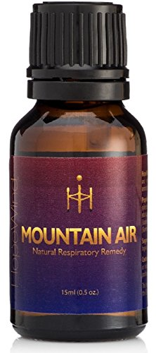 Mountain Air Respiratory Blend, Sinus, Allergy, Cough, Cold Relief - 100% Pure, Therapeutic grade, Unique Formula - Breathe Easy, Congestion Relief Essential Oil Remedy - HopeWind Health