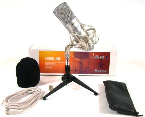 Bad Axx Ba-Um600-Kit Studio Usb Cardioid Condenser Microphone Kit