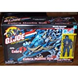 G.I. JOE Cobra Mantis Sub with Cobra Moray