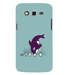 EPICCASE Penguins fun Mobile Back Case Cover For Samsung Galaxy Grand Prime (Designer Case)
