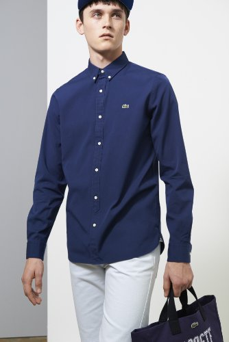 L!ve Long Sleeve Oxford Woven Shirt