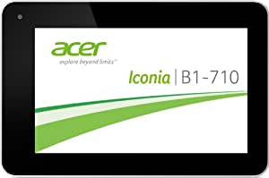 """Acer Iconia B1-710 Tablette tactile 7"""" (17,78 cm) MEDIATEK 5x86 1,2 GHz 8 Go 1024 MB Android Jelly Bean 4.2.1 Wifi Blanc"""