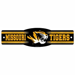 Buy NCAA Missouri Tigers 4.5-by-17 Sign by WinCraft