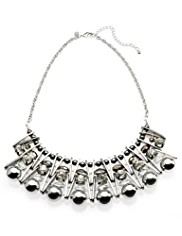Per Una Geometric Plated Collar Necklace