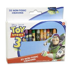 Disney Pixar Toy Story 3 Crayons (32 Non-toxic Crayons) - 1