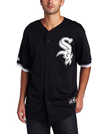 MLB Chicago White Sox Gordon Beckham Black Baseball Jersey Spring 2012 Mens by Majestic