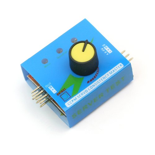 Multi Servo Tester 3Ch Ccpm Meter Esc Speed Controller Checker Futaba Towerpro?